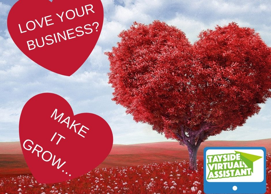 Do you LOVE ❤️ your business enough? #valentinesday